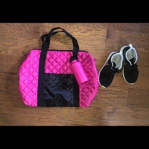 Athletic gym bag